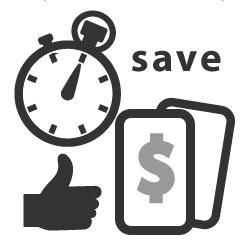 image front page program description save money