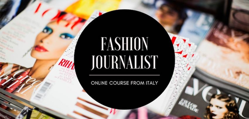Fashion journalist online course