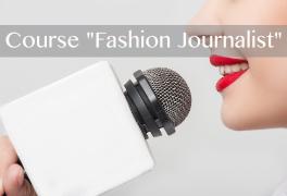 Online course Certified Fashion Journalist
