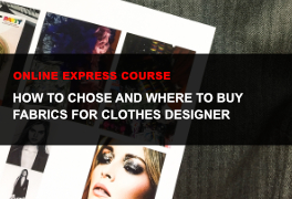 Express online course Selecting Patterns & Fabric for Making Clothes