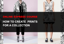 Express online course How to create prints for a fashion collection