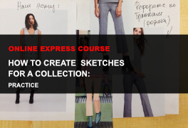 Express online course How to draw fashion sketches