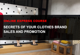 Express online course How to promote a fashion brand