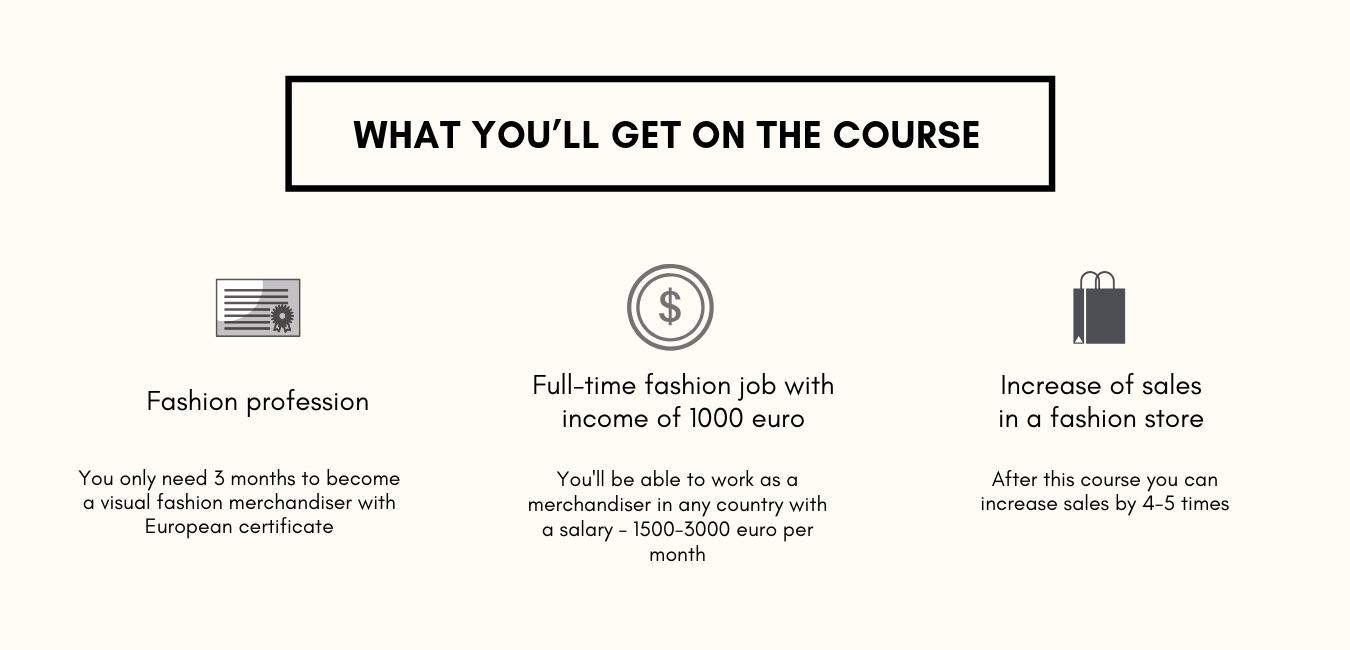 visual fashion merchandising courses online