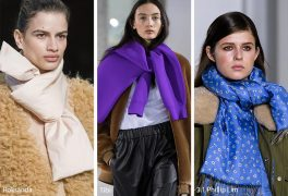5 trendy ways how to wear scarf this winter