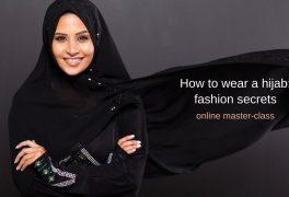 """Master-class """"How to wear a hijab: fashion secrets"""""""