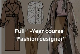Full 1-Year Fashion designer course