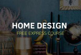 "Free express course ""Home Design"""